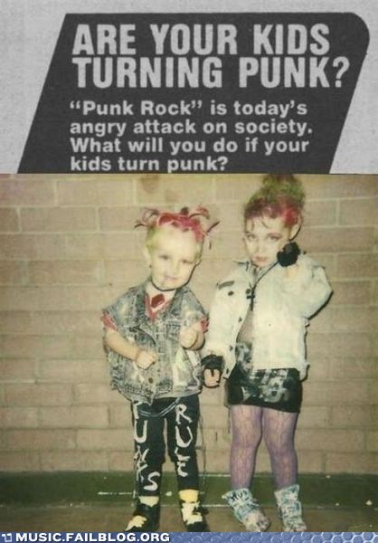 children kids parenting punk punk rock - 5801641984