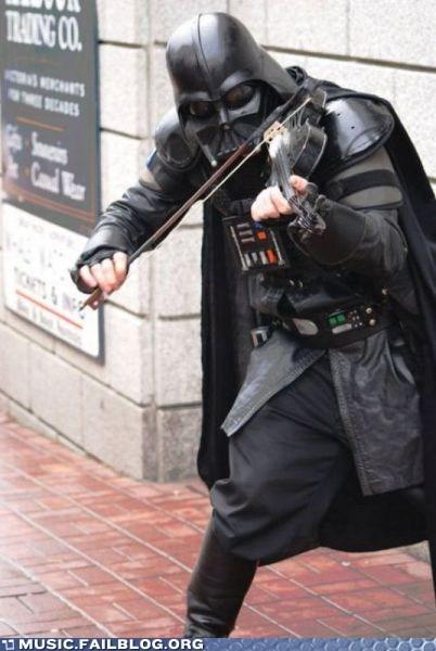 darth vader star wars violin - 5801691904