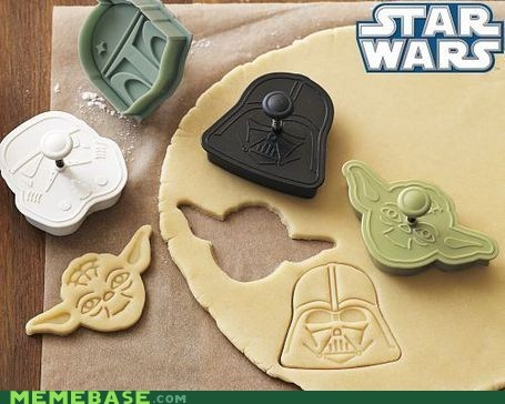 Cookie Cutter It Came From the Interwebz noms star wars - 5801828864