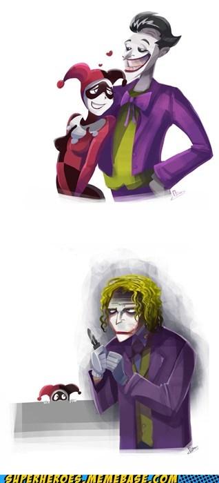 Awesome Art Harley Quinn joker Movie - 5801864448