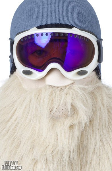 beard clever design mask ski wizard - 5801892352
