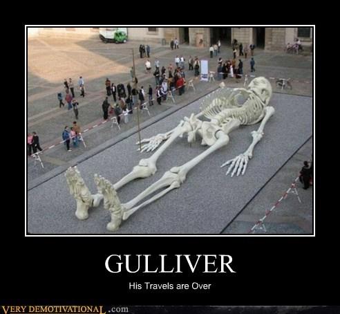 gulliver hilarious skeleton travels wtf - 5801995264