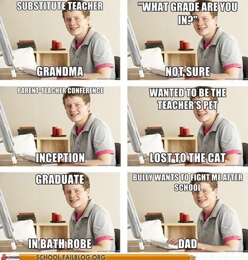 grandma harold home school macro meme - 5802091776