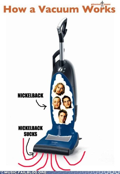 Hall of Fame nickleback sucks vacuum vacuum cleaner - 5802153984