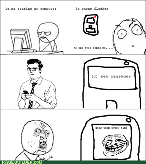 cell phone,Rage Comics,troll,Y U No Guy