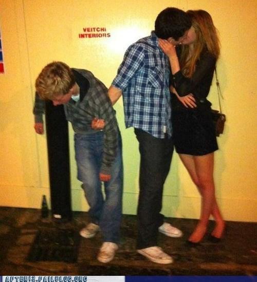 making out Multitasking puking vomiting wingman - 5802439424