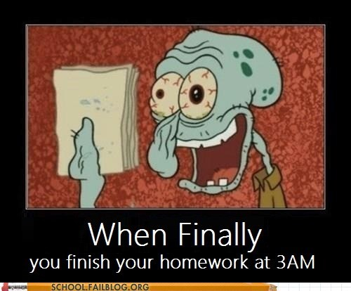 all nighter SpongeBob SquarePants squidward that face - 5802466560