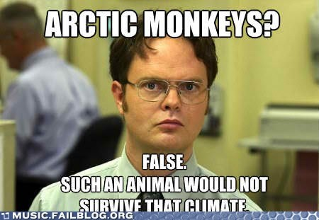arctic monkeys dwight dwight schrute television the office TV - 5802550528