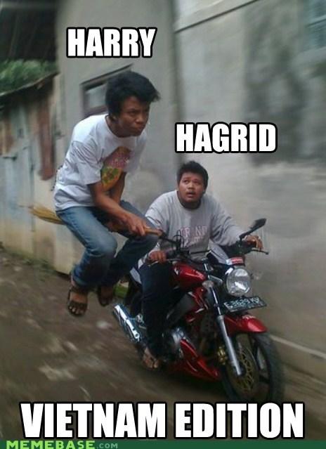 Hagrid Harry Potter horcrux Memes pho - 5802562048