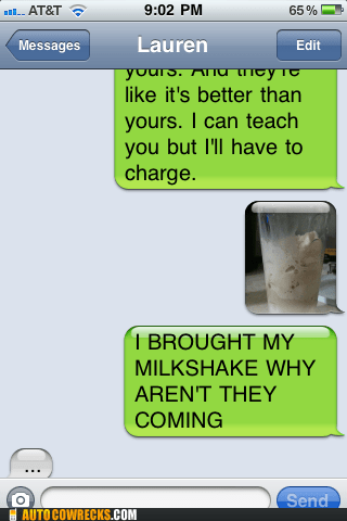 dating forever alone milkshake relationships - 5802671104
