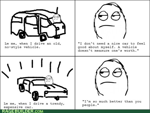 cars,driving,Rage Comics,self worth