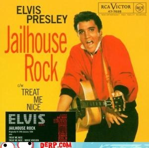 derp Elvis jail king - 5802755328