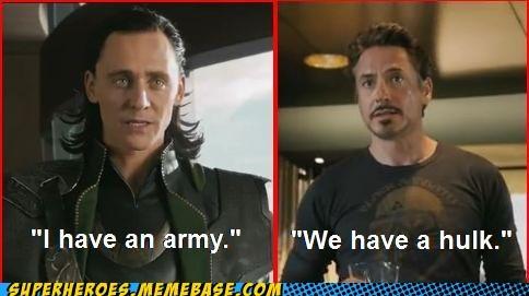 army avengers hulk ironman loki Super-Lols - 5802908416