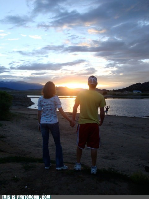 awesome beach couple romantic sunset - 5803018496