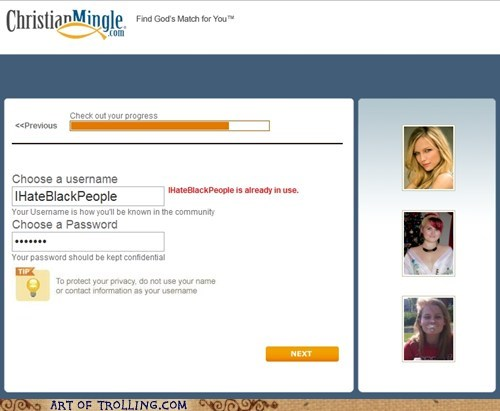 black people christian mingle racism - 5803159552