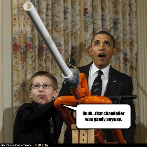 barack obama,marshmallow cannon,political pictures
