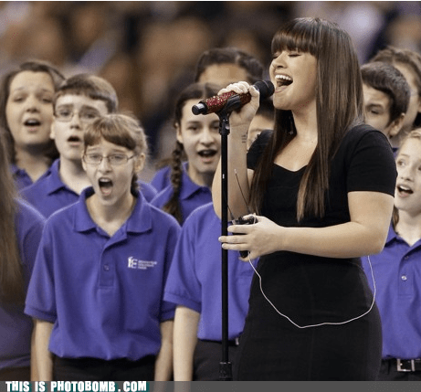 agape,best of week,choir,Good Times,kelly clarkson,kids,super bowl