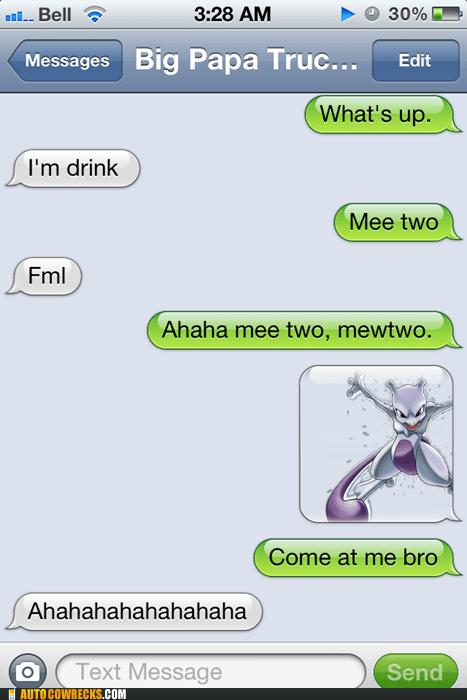 drink drunk mewtwo Pokémon - 5803624448