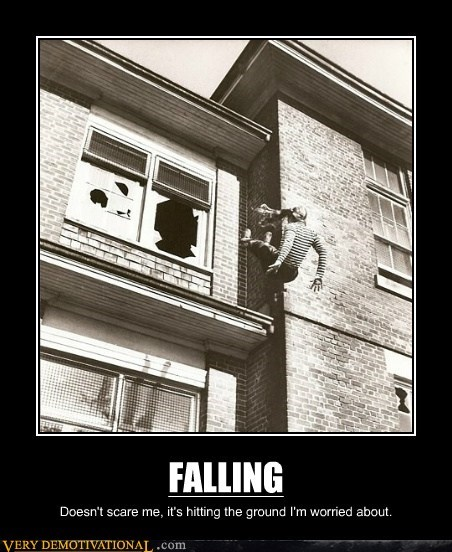 falling ground scary Terrifying - 5804153344