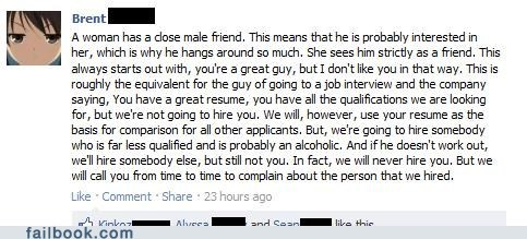analogy failbook Featured Fail friendzone g rated job interview