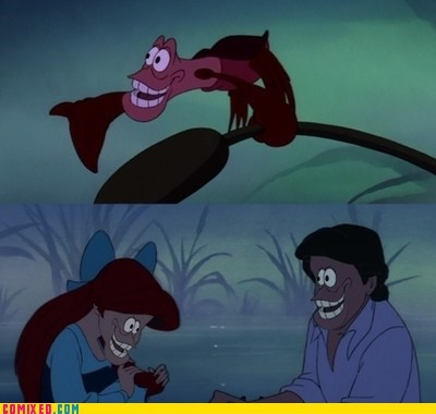 best of week,face replace,From the Movies,Memes,sebastion,The Little Mermaid,under the sea
