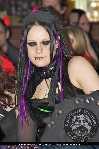 black cyber cyberpunk eyeliner goth - 5805600000