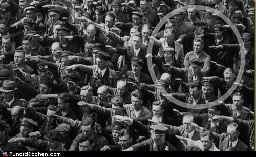 hitler nazis political pictures salute world war II