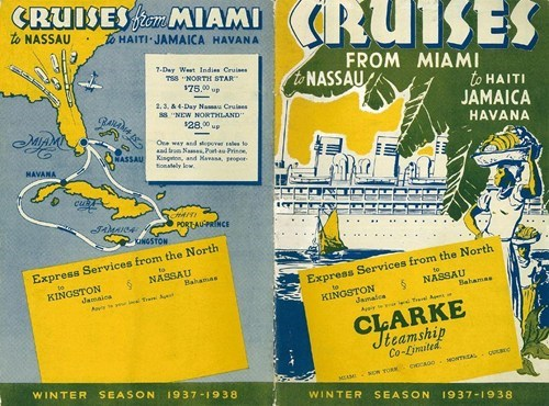bahamas,cruise,florida,getaways,haiti,miami,nassau,north america,retro travel,vintage travel