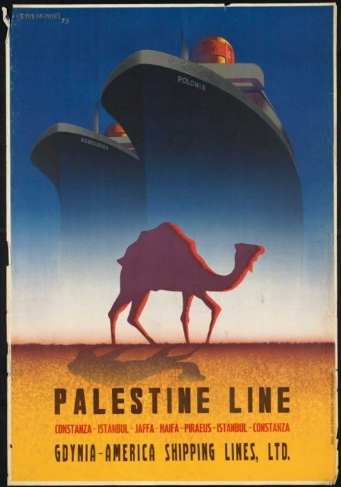 cruise getaways Palestine retro travel vintage travel - 5805836544
