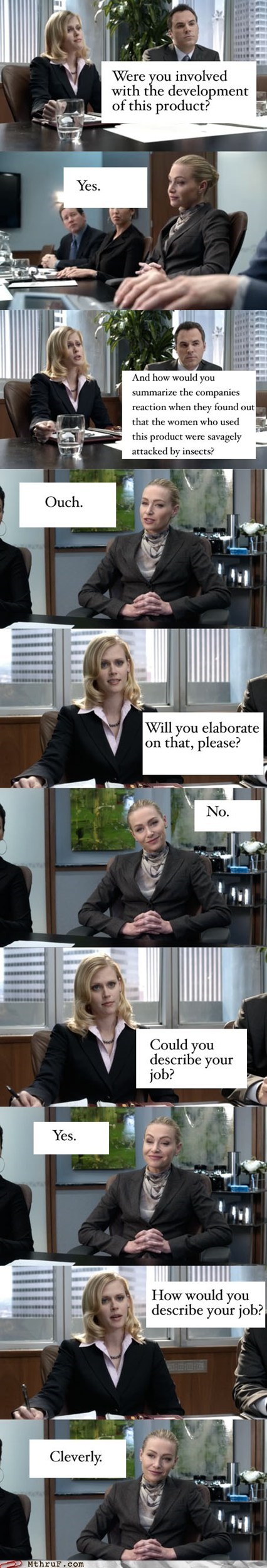 Better Off Ted,cleverly,office TV shows,Portia de Rossi