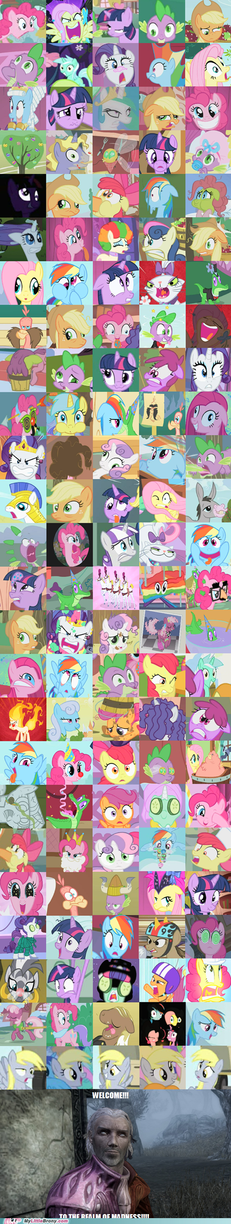 awesome derp first season my little pony scary TV - 5806622208