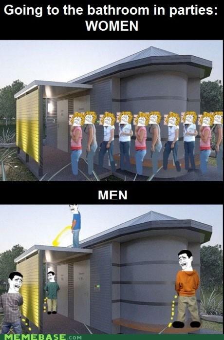 bathroom gender pee Rage Comics - 5806868736