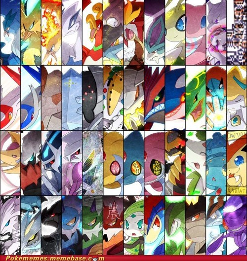 all together art legendary missingno - 5806942976