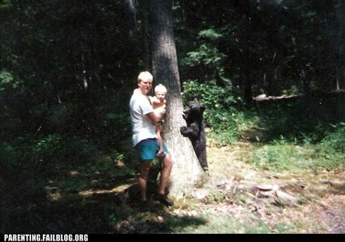bear bear eats child child dinnertime - 5807073024