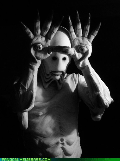 best of week,cosplay,creepy,pale man,pans-labyrinth