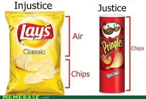 chips,justice,Lays,Memes,pringles