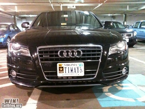 car clever disabled handicapped parking license plate South Park timmy - 5807393792