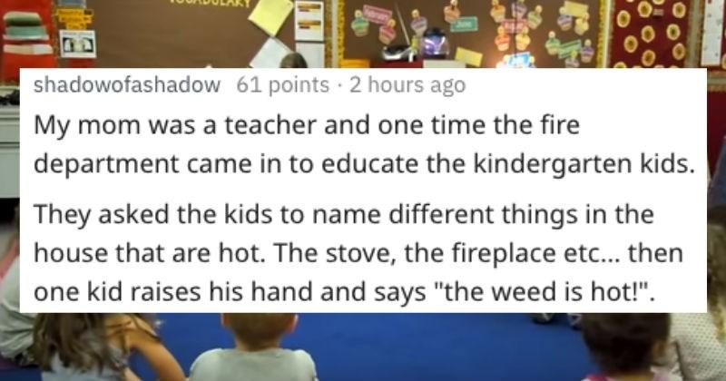 kids revealing parents secrets