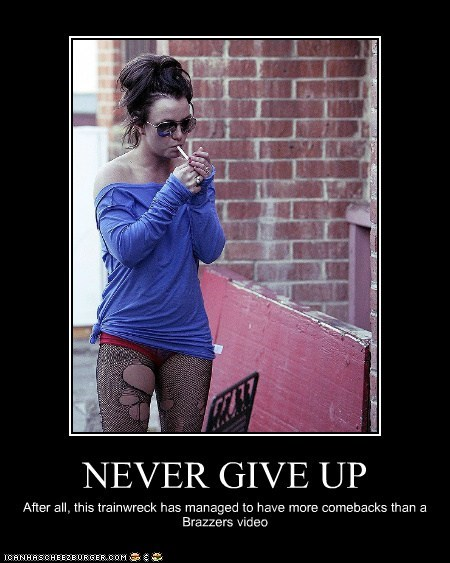 britney spears celeb demotivational funny - 5807623680
