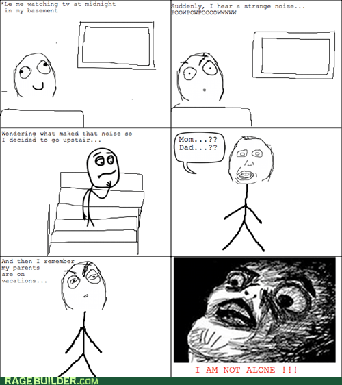 Home Alone,noises,Rage Comics,raisin face