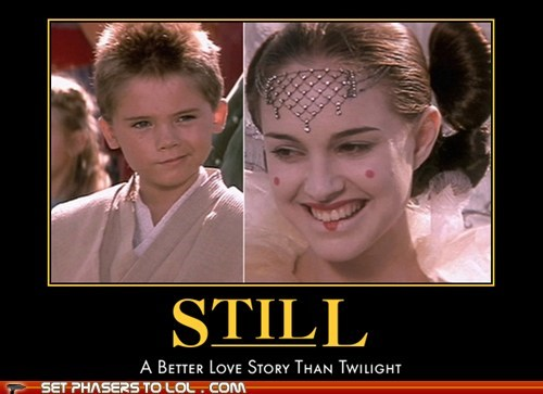 anakin skywalker Jake Lloyd natalie portman padme queen amidala star wars still a better love story the phantom menace - 5808480768