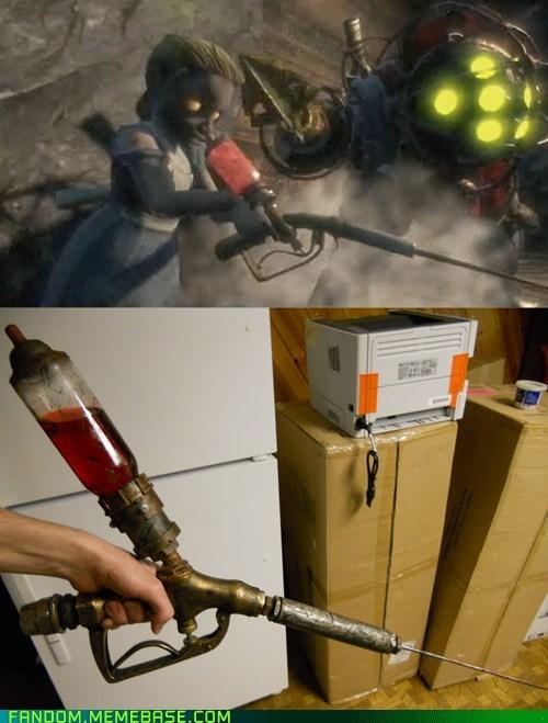bioshock cosplay syringe video games - 5808546560