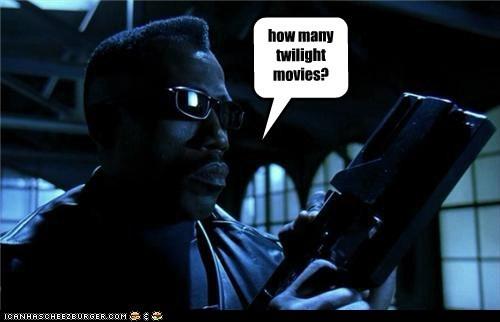 they made how many twilight movies?