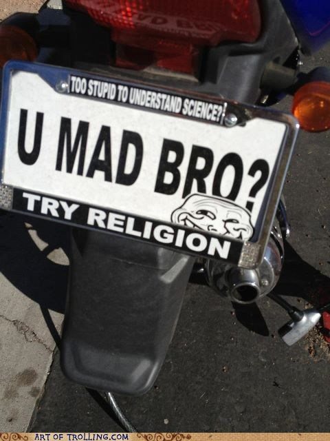 best of week IRL license plate religion science - 5808767488