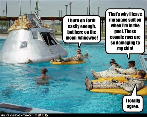 astronaut color funny Photo - 5810640896