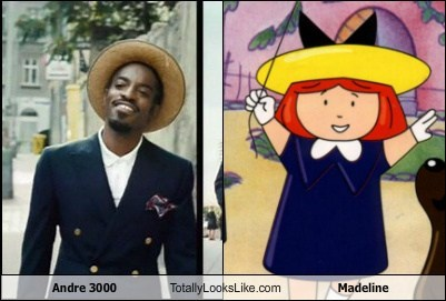 andre 3000,celeb,funny,madeline,TLL