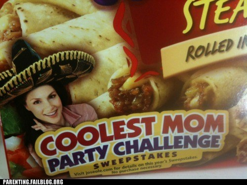 coolest moms,party challenge,sombreros,tacos