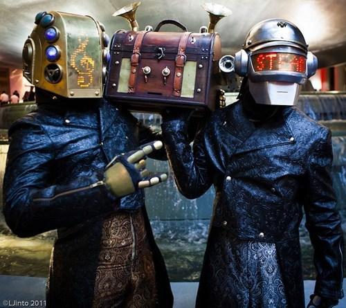 cosplay,cosplay corner,daft punk,dragoncon,Steampunk