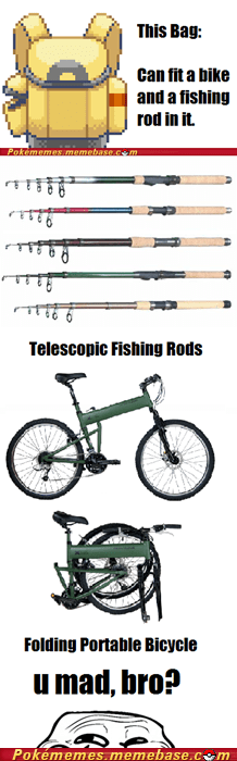 bicycles fishing rods Memes pokemon bag trolling u mad - 5812324352