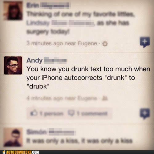 drubk,drunk,drunk texting,facebook